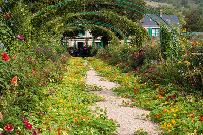 Monet's garden and house