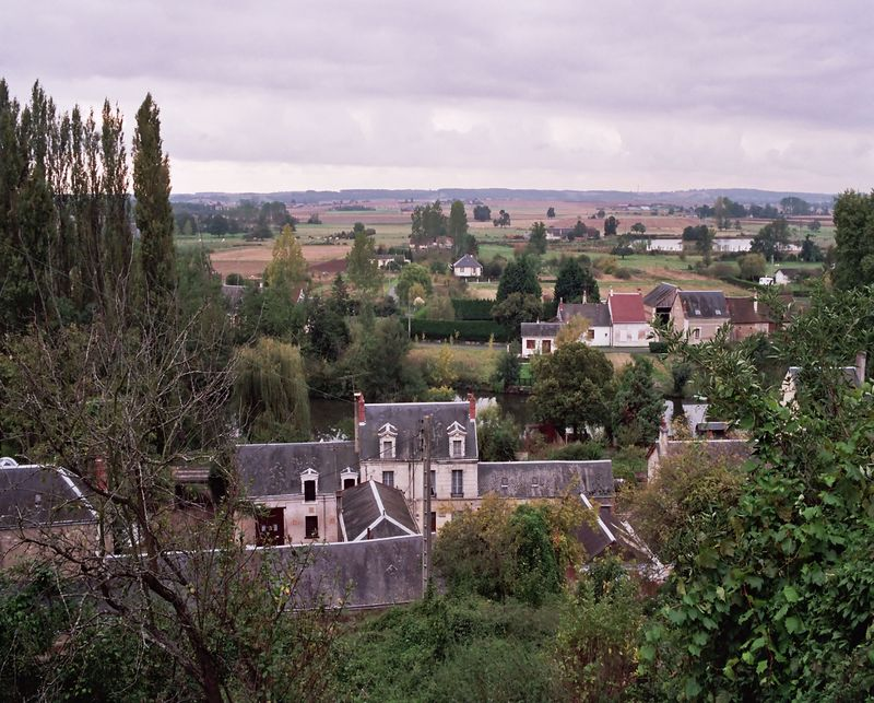 View of Troo, France (Loire Valley)