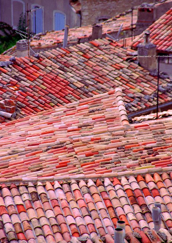 Rooftops in the Luberon