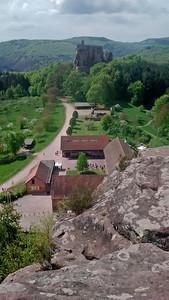 Burg Fleckeinstein in the Vogesen