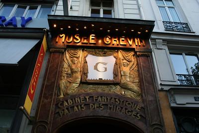 Paris Wax Museum - we didn't go in.