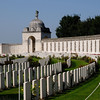 "<div style=""text-align: left;"">Tyne Cot Cemetery is the resting place of 11,954 soldiers of the Commonwealth Forces. This is the largest number of burials contained in any Commonwealth cemetery of either the First or Second World War. It is the largest Commonwealth military cemetery in the world. The dates of death of the soldiers buried at Tyne Cot cemetery cover a period of four years, from October 1914 to September 1918 inclusive. The wall of the Tyne Cot Memorial to the Missing at the eastern end of the cemetery (right of picture), bears the names of over 34,000 soldiers missing in the Ypres Salient.</div>"