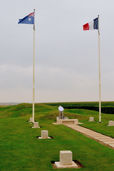 The Australian War Memorial's Windmill site, Pozières.