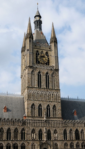 Clock Tower of the Cloth Hall, Ypres.