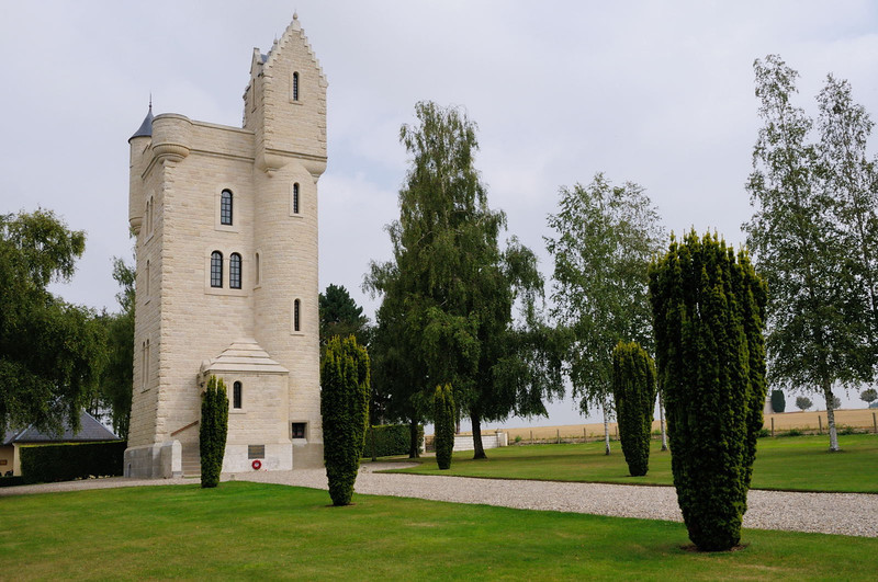"<div style=""text-align: left;"">The Ulster Memorial Tower commemorates the heavy losses sustained by the men of the 36th (Ulster) Division on 1st July 1916, the first day of the Battle of the Somme. At the end of that day, the 36th Division had suffered over 4,900 casualties.</div>"