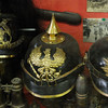 Sanctuary Wood Museum (Hill 62).  German helmets.