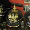 Sanctuary Wood Museum (Hill 62).  German helmets.