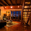 Loft apartment living room in Carol's French country home