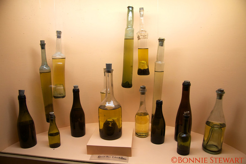 Museum of Wine - antique bottles