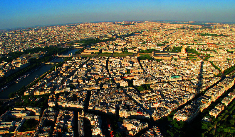 Paris under the Shadow of the Eiffel Tower