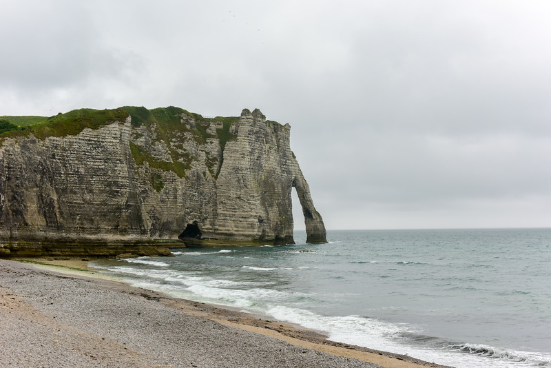 White Cliffs of Etretat, France