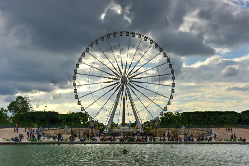 Tuileries Garden - Paris, France