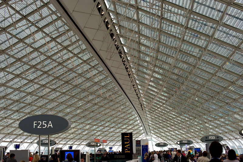 Paris does everything in style, even airports