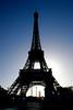 Silhouette, Tour de Eiffel