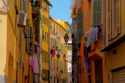Laundry day in Old Nice.