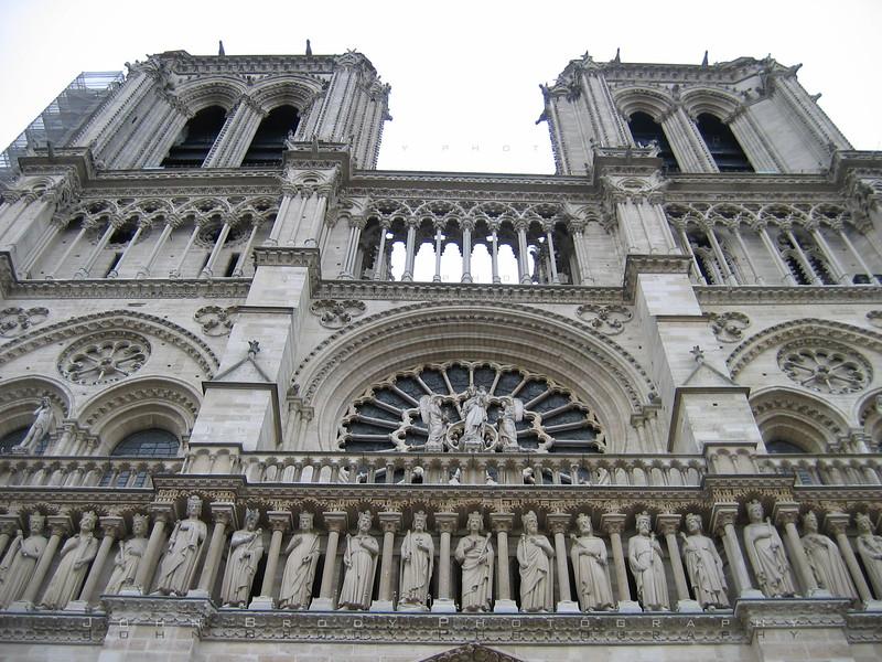 Notre Dame Cathedral Paris - JohnBrody.com