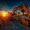 Sun Rise of The Machine - HDR
