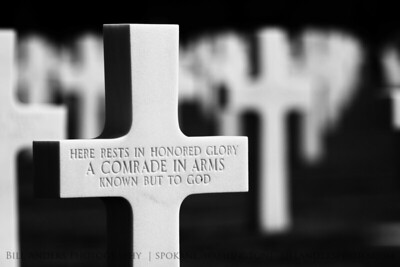 Honored Glory.  Normandy American Cemetery and Memorial, Omaha Beach, Normandy, France.