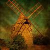 Windmill of St Julien le Montagnier (France)