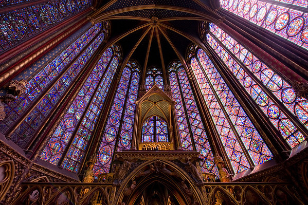 St. Chappelle in Paris