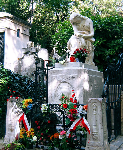 Chopin's Final Resting Place - JohnBrody.com