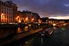 Night Cruise at the Seine, Paris