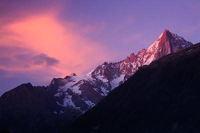 Sunset, Aiguille du Dru