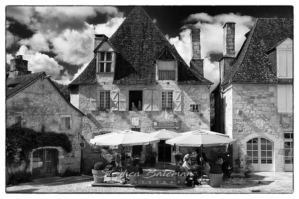 France Black and White