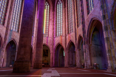 Interior, Church of Les Jacobins #1