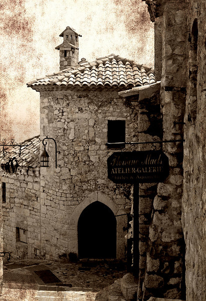 Eze Village #2 (French Riviera)