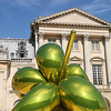 """Balloon Flower"" by Jeff Koons,  Palace of Versailles"