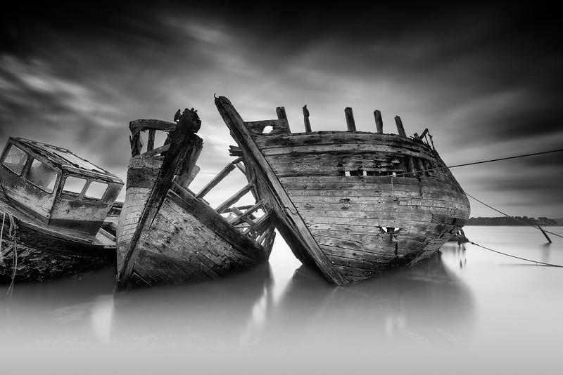 Boat Wrecks @ Rostellec (Brittany)