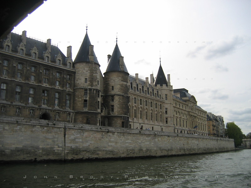 Former Prison / Palace where Marie Antoinette waited during the French Revolution until she was beheaded in the Town Square - JohnBrody.com