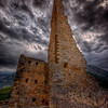 Ruins of Lascaris Castle @ Tende (French Riviera)