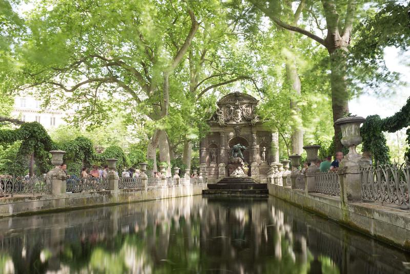 Medici Fountain - Paris, France