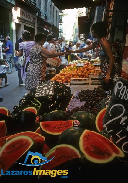 Street Marketplace<br /> Old Nice, France