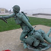 Army National Guard Monument, Omaha Beach, Normandy France