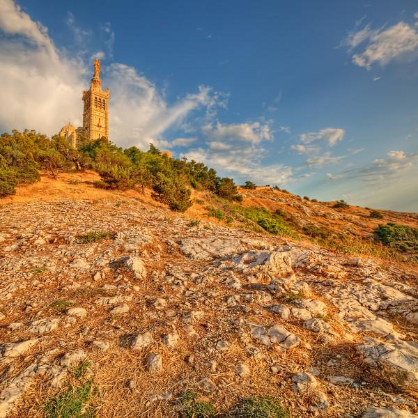 Basilique Notre-Dame de la Garde @ Marseille (France)