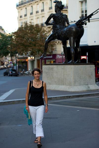 Statues adorn Paris everywhere.