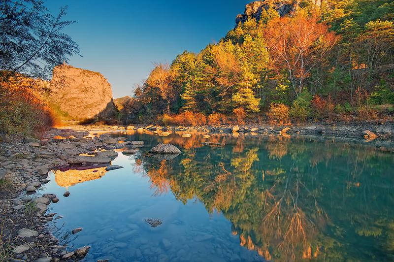 Verdon River @ Castellane (France)