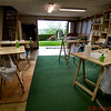 The Art Studio at the Gardyne French country home