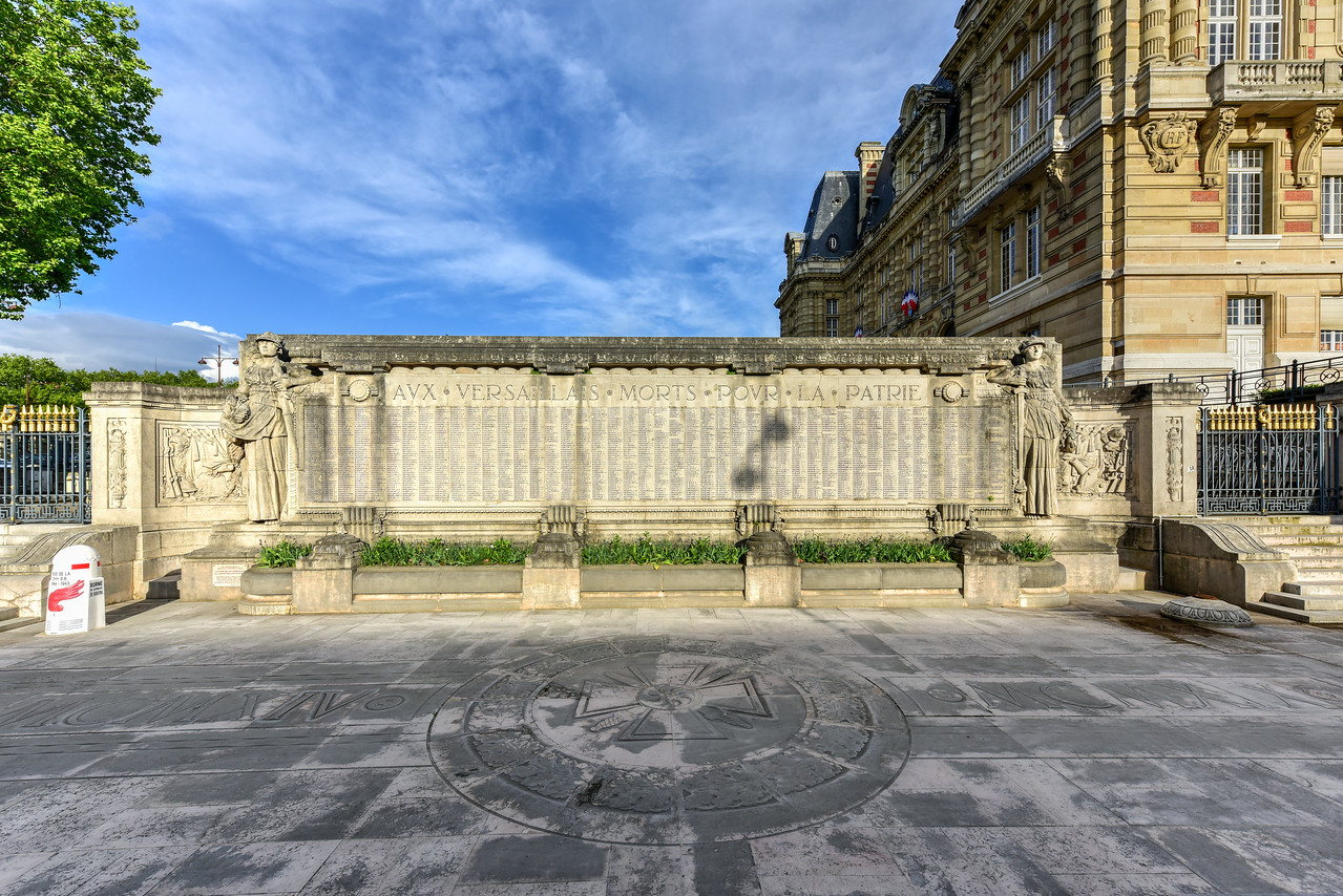 War Memorial of Versailles, France