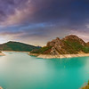 Castillon Lake (French Riviera) - Panorama