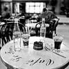 Café Le Transit.<br /> Paris.<br /> B&W Kodak TMax 100 film.
