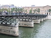 The oldest Iron footbridge in France (Europe?) - It leads from the Louvre to the Left Bank - JohnBrody.com