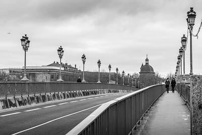 Bridge over the Garonne, Toulouse