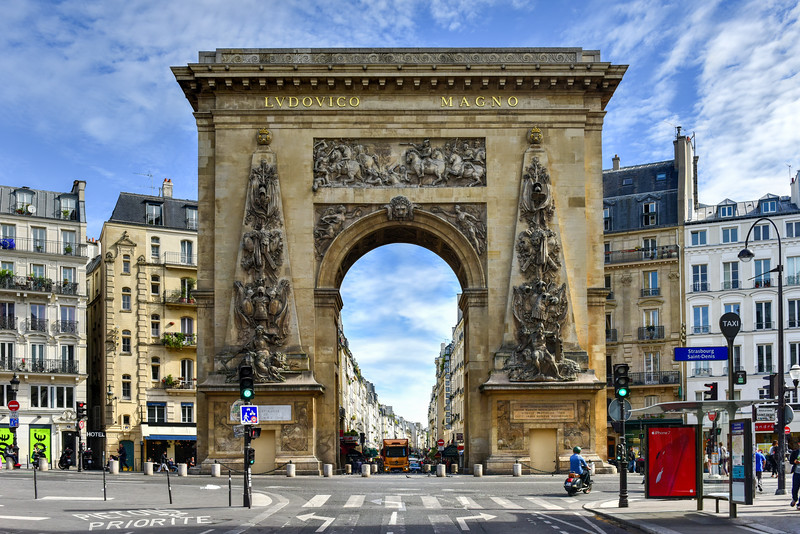 Porte Saint-Denis - Paris, France