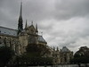 Notre Dame Cathedral in Paris taken from a bridge over the river Seine - JohnBrody.com