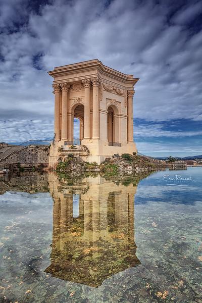 Château d'eau - Jardin du Peyrou @ Montpellier (France)