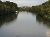 Oise river through Auvers - Looking east to the outskirts of town. Twenty miles north of Paris - JohnBrody.com